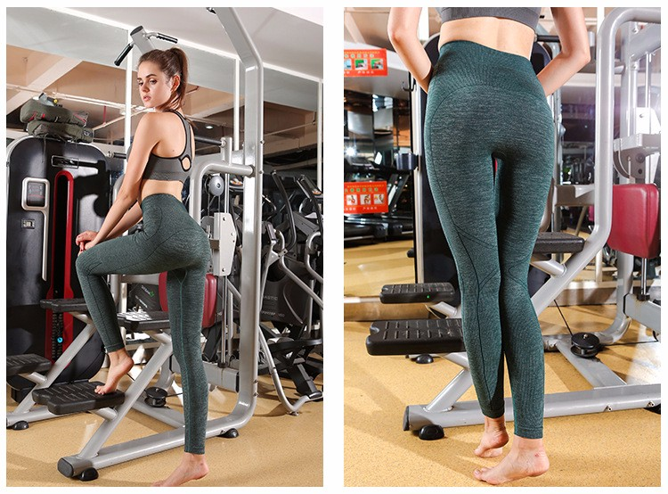 Brazilian High Spandex Best yoga pants Girls Wearing Training Black Yoga Pants