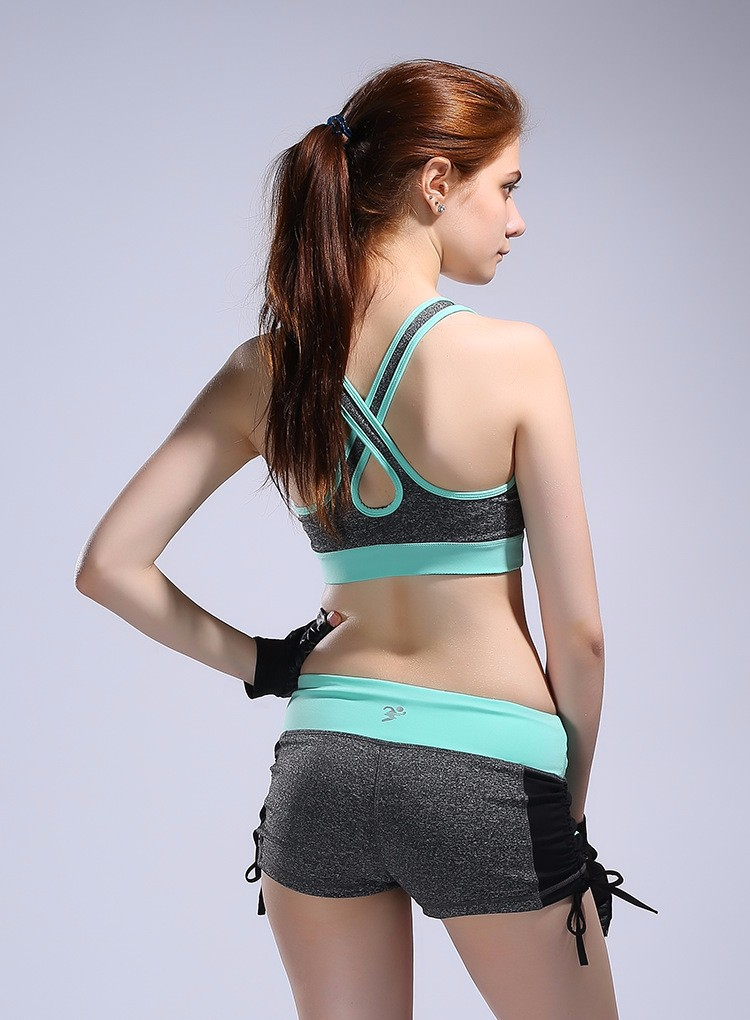 women sexy underwear gym sports yoga shorts girls wearing breathable fitness yoga pants