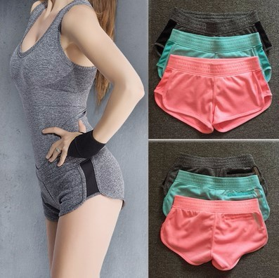 Women high quality cheap yoga shorts for marathon sexy gym wears and colorful yoga pants
