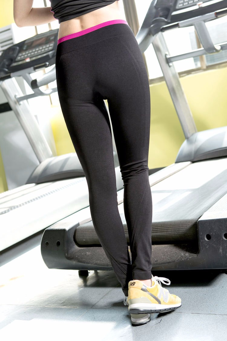 High Waist Tight Fitness Gray Jogging Yoga Pants Custom Leggings Women Seamless Sport