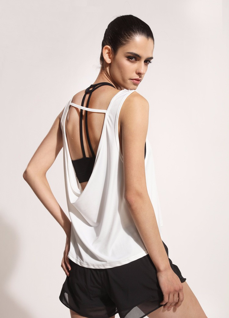Yoga clothes for women exercise tunic tops best quality comfortable yoga vest