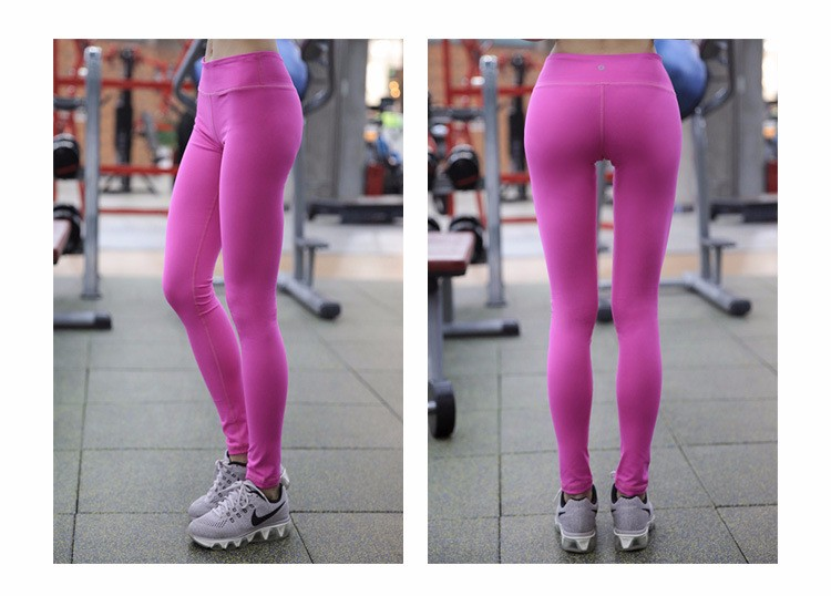 Red tight hip lifter bodybuilding sports wicking sports leggings wears yoga pants