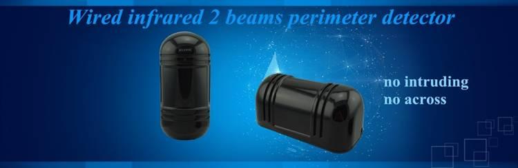 2 beams outdoor infrared perimetet detector